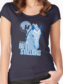 The Hyperion ButtStallions Women's Fitted Scoop T-Shirt