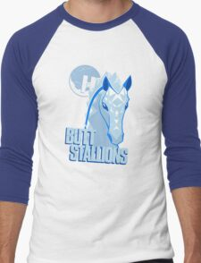 The Hyperion ButtStallions Men's Baseball ¾ T-Shirt