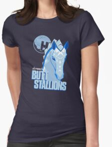 The Hyperion ButtStallions Womens Fitted T-Shirt