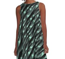 Abstract 190716(04) A-Line Dress