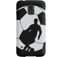 Soccer Silhouette  Samsung Galaxy Case/Skin