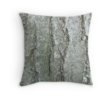 Forest - Tree Bark Throw Pillow