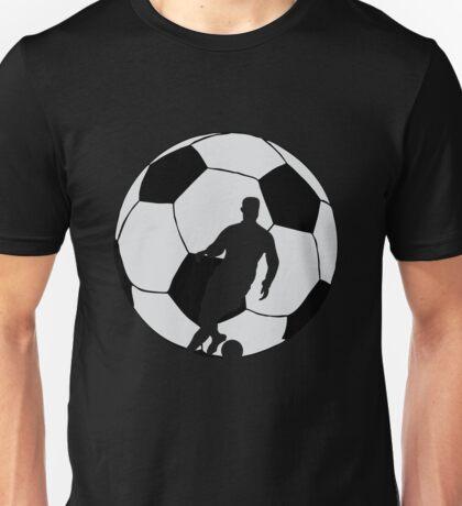 Soccer Silhouette  Unisex T-Shirt