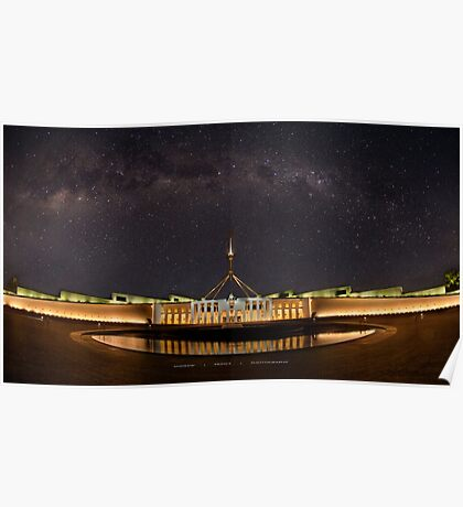 Southern Sky Parliament House  Poster