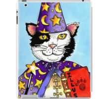 Magician Cat iPad Case/Skin