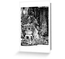 Stone Lantern 3, Kanazawa Greeting Card