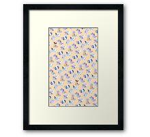 Water Starters Framed Print