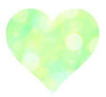 Lemon Lime Fizz Heart by mezzilicious