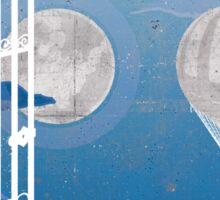 Ghost of This City - Aosuke  Sticker