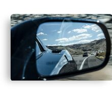 Objects in Mirror Canvas Print