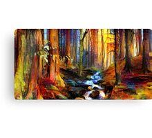 Forest Flow Canvas Print