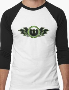 "Joey Warner ""Notch 11"" [Green] Men's Baseball ¾ T-Shirt"