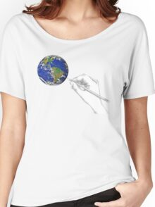 Drawing the World Women's Relaxed Fit T-Shirt