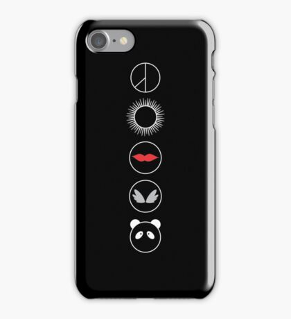 BB ICONS BLACK iPhone Case/Skin