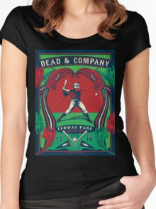 DEAD &COMPANY BostoN 2016 NEW Collection Women's Fitted Scoop T-Shirt