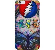 Grateful Dead love the butterfly 2016 iPhone Case/Skin