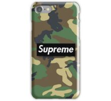 Supreme Camouflage,  iPhone Case/Skin