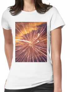 Multiple exposure Womens Fitted T-Shirt