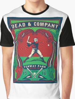 DEAD AND COMPANY SUMMER TOUR 2016 FENWAY PARK,BOSTON,MA Graphic T-Shirt