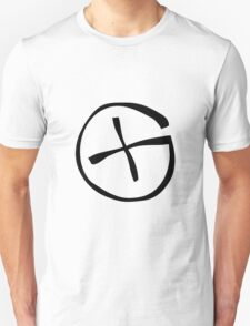 Geocache logo, symbol. Unisex T-Shirt
