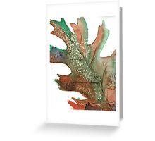Watercolor Leaf Greeting Card
