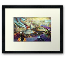 """Smoke Break"" Framed Print"