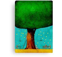 Bio Energy Canvas Print
