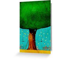 Bio Energy Greeting Card