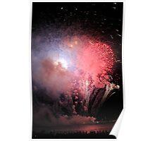 Firework Smoke Poster