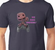 Inspired by Sackboy of Little Big Planet Unisex T-Shirt