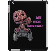 Inspired by Sackboy of Little Big Planet iPad Case/Skin