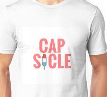 Cap-Sicle: Captain America Unisex T-Shirt
