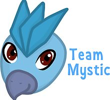 Articuno - Team Mystic Chibi by Bethany Maree Edwina Symons