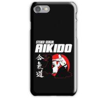 STEVEN SEAGAL AIKIDO MARTIAL ARTS JAPAN KANJI iPhone Case/Skin