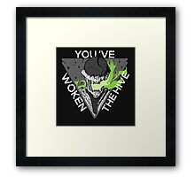 You've Woken The Hive Framed Print