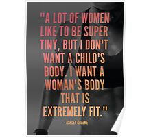 Extremely Fit Body Poster