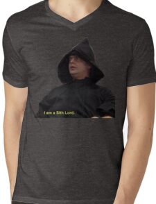 I am a Sith Lord--Dwight Schrute Mens V-Neck T-Shirt
