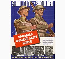 Vintage poster - Canadian Women's Army Corps Unisex T-Shirt