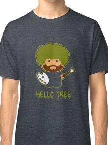 Bob ross happy tree t shirt Classic T-Shirt