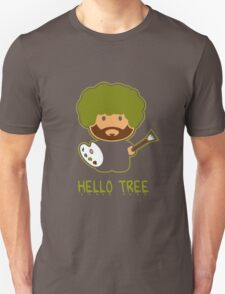 Bob ross happy tree t shirt Unisex T-Shirt