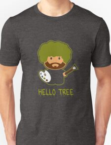 Bob ross happy tree t shirt Unisex T-Shirt