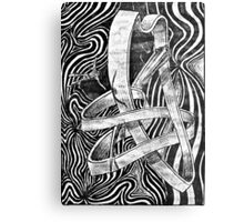 freefalling Metal Print