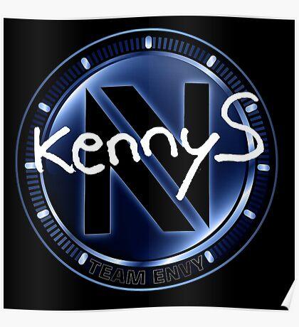 enVyUs kennyS | CS:GO Pros Poster