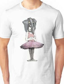 Elephant Girl Unisex T-Shirt