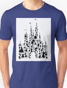 Character Castle Silhouette  Unisex T-Shirt