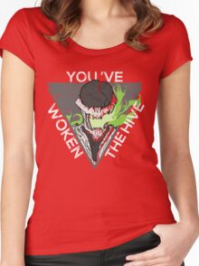 You've Woken The Hive Women's Fitted Scoop T-Shirt