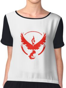 Team Valor Chiffon Top