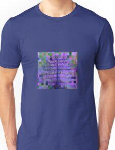 Gingham spider tree Unisex T-Shirt