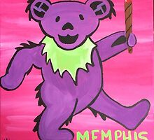 MEMPHIS Bear by jigsawmerch