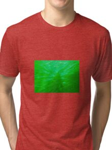 Green Water Sunburst Tri-blend T-Shirt